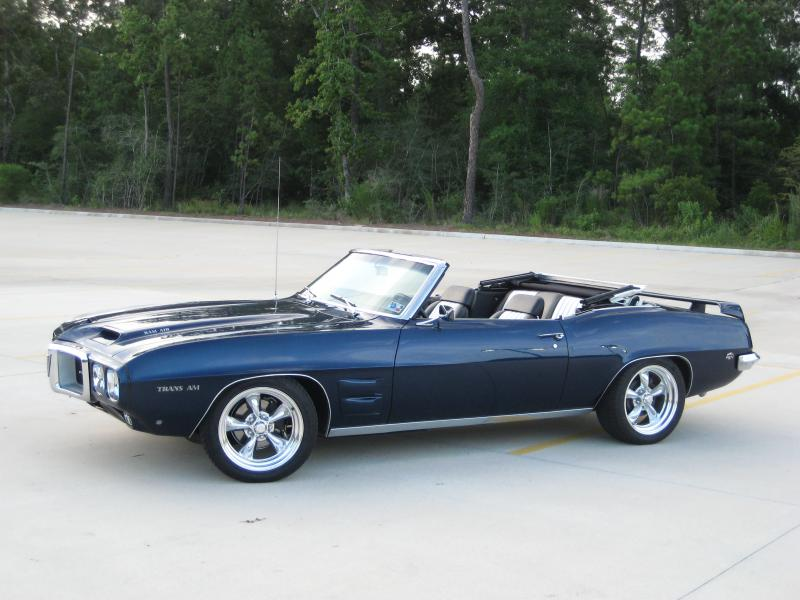 David Urie's GORGEOUS Firebird convertible!