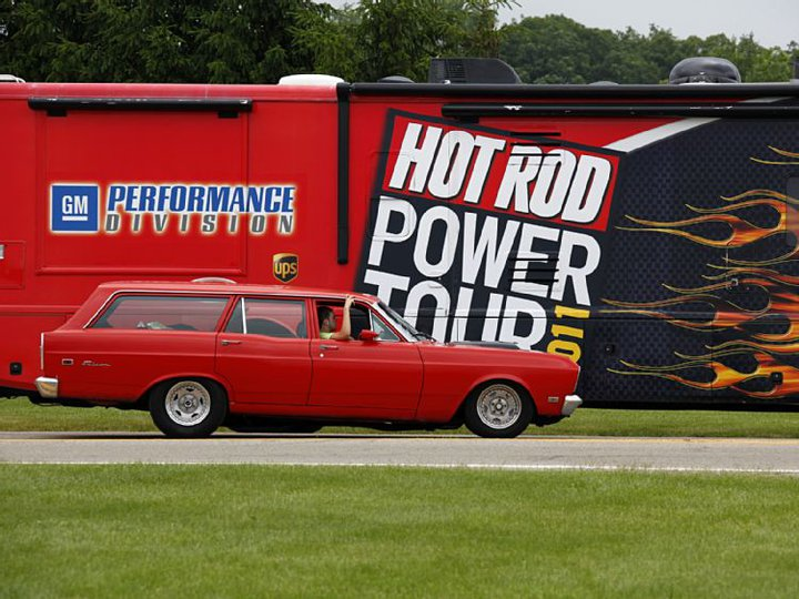 2011 Hot Rod Power Tour - Long Hauler Ceremony