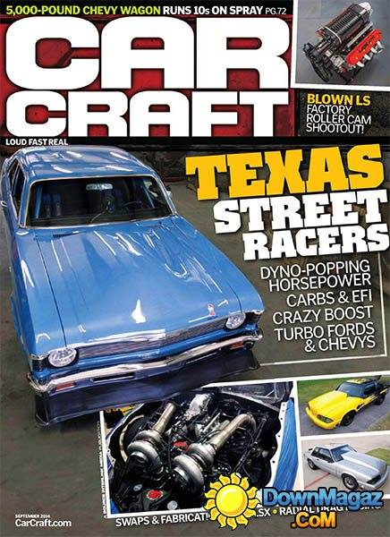 September 2014 Car Craft, article on SXT Performance